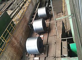 热轧卷板生产车间